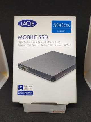 DISCO DURO LACIE 500GB SSD (207354)