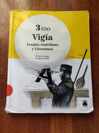 Libro de Lengua Castellana y Literatura 3°ESO