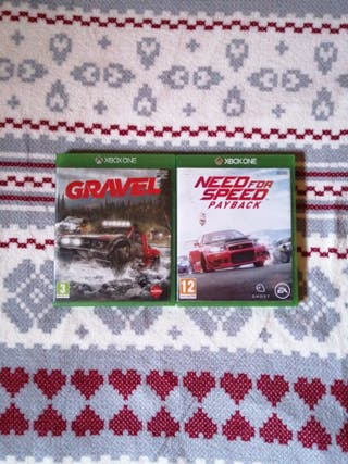 need for speed payback & gravel xbox one