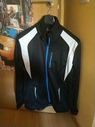 chaqueta invierno ciclismo talla L hombre crivit