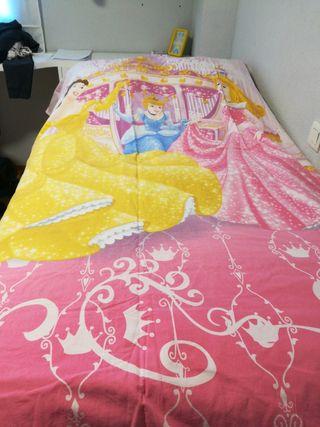 Funda nórdica niña cama 90 princesas Disney