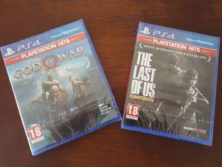 Juegos Ps4: God of War & The Last of Us