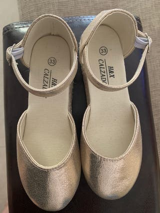 Zapato esparto niña num 33