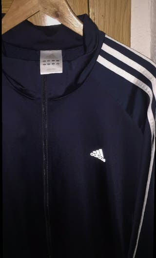 Chaqueta Adidas azul marino talla XL grande
