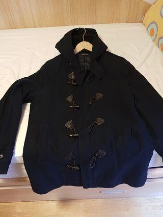 abrigo zara azul oscuro talla XL hombre