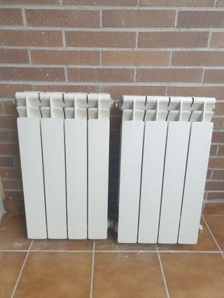 Radiador de aluminio calefacción