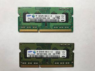 Ram Samsung Ddr3 2GB PC3 1600 SO DIMM
