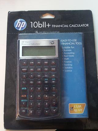 calculadora HP Financiera 10 bll+