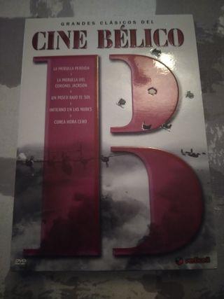 PACK GRANDES CLÁSICOS DEL CINE BÉLICO. 5 DVD