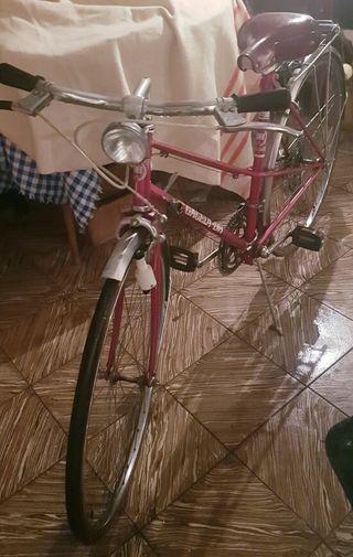 Bicicleta BH modelo Gacela años 80
