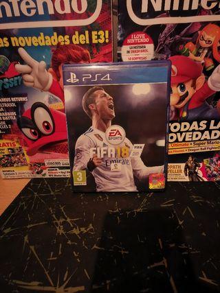 FIFA 18 PS4 PAL ESPAÑA.