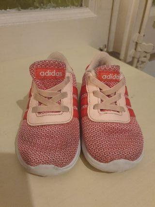 zapatillas de niña talla 21 Adidas