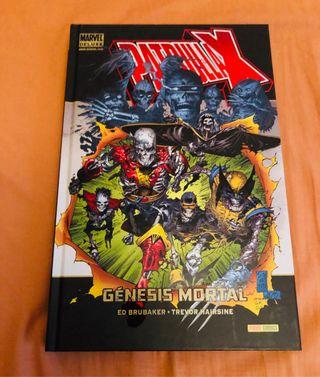 Patrulla X Marvel deluxe Genesis mortal Brubaker