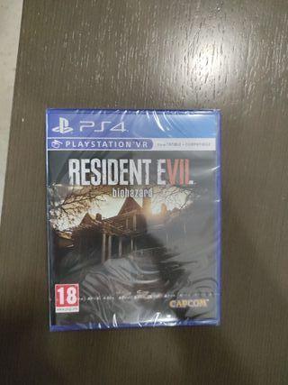 Resident Evil biohazard ps4 Vr