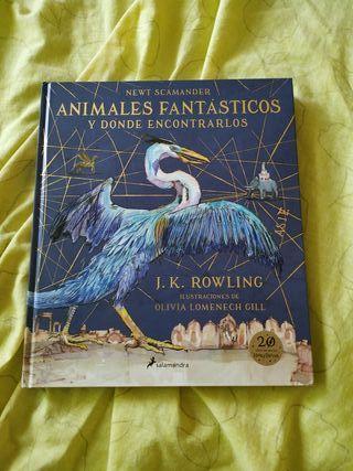 animales fantásticos libro ilustrado