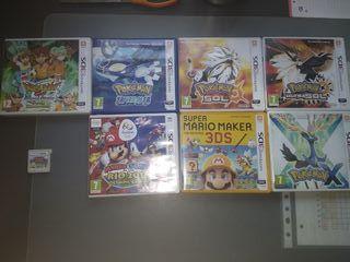 Pack de 8 juegos de 3DS