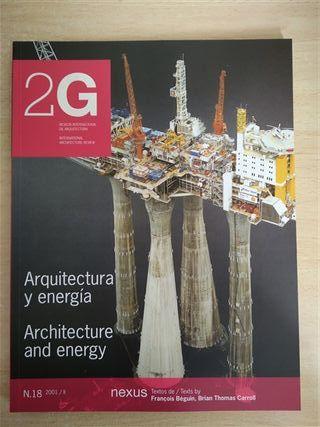 Revista 2G, N18, Arquitectura y Energía