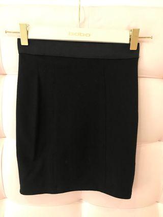 Minifalda elástica