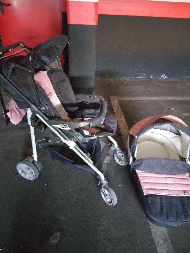 """carrito de bebé duo """"chicco"""""""