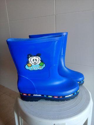 botas de agua número 35