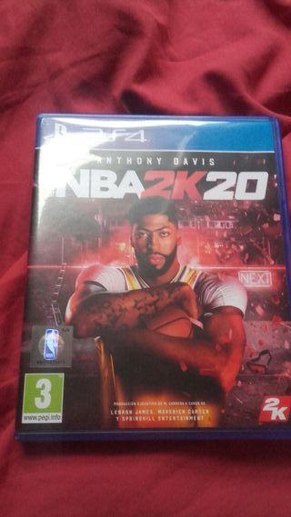 NBA 2K20 PS4 PERFECTO ESTADO