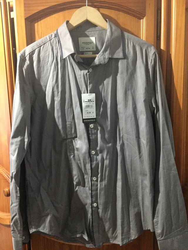 camisa hombre talla L