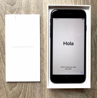 IPhone 7, 128 GB, Negro mate