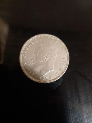 moneda de 100 pesetas de 1980