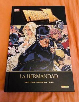 Patrulla X Marvel deluxe La hermandad