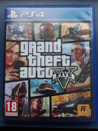 CAMBIO O VENDO GRAND THEFT AUTO V GTA 5 PS4