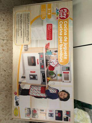 Cocina de juguete para niños