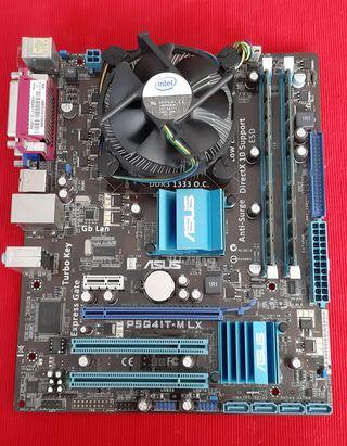 Placa base + procesador +RAM