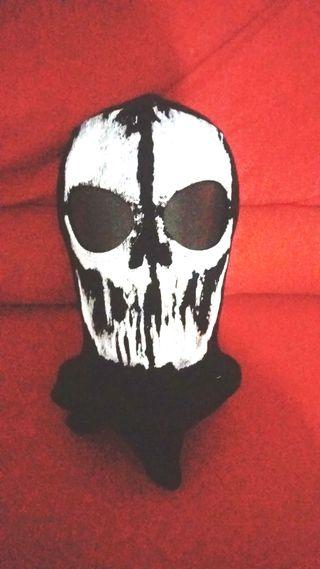 Máscara de calavera de Call of Duty diseño: el ros