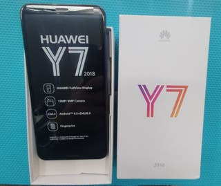 Huawei Y7 azul