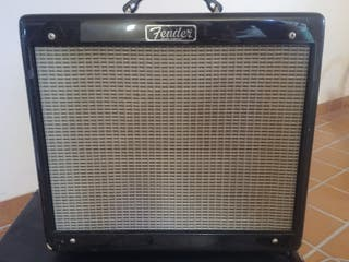 Fender Blues Junior Green Paisley