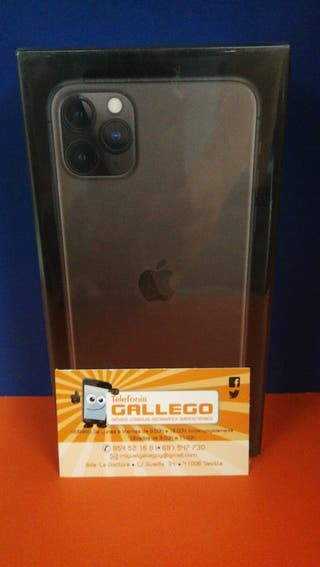 IPHONE 11 PRO MAX 256 GB PRECINTADO NEGRO