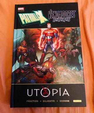 Patrulla X Utopia. Descatalogado.