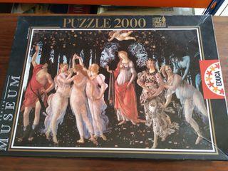 puzzle 2000 piezas solo lo he montado una vez 10€