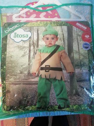 disfraz bebé Robin hood