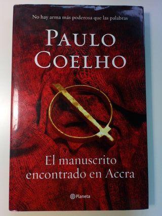 el manuscrito encontrado en Accra de Paulo Cohelo