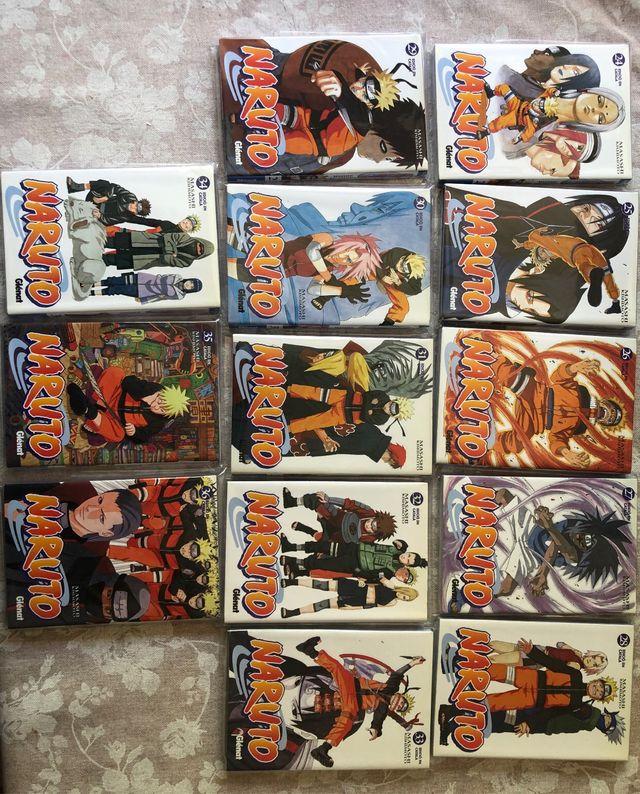 Mangas Naruto catalán tomo 24 al 36 que