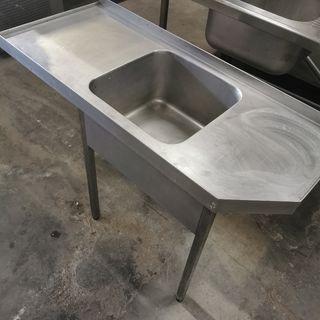 fregadero industrial lavavajillas hueco