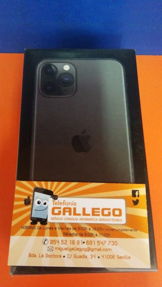 IPHONE 11 PRO 256 GB NEGRO PRECINTADO
