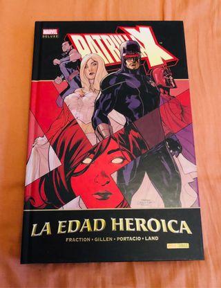 Patrulla X Marvel deluxe La edad heroica