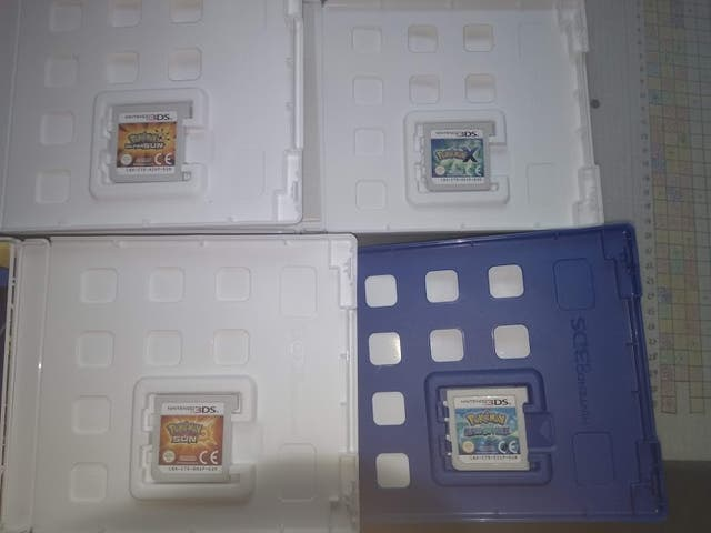 Pack de 4 juegos Pokemon 3DS