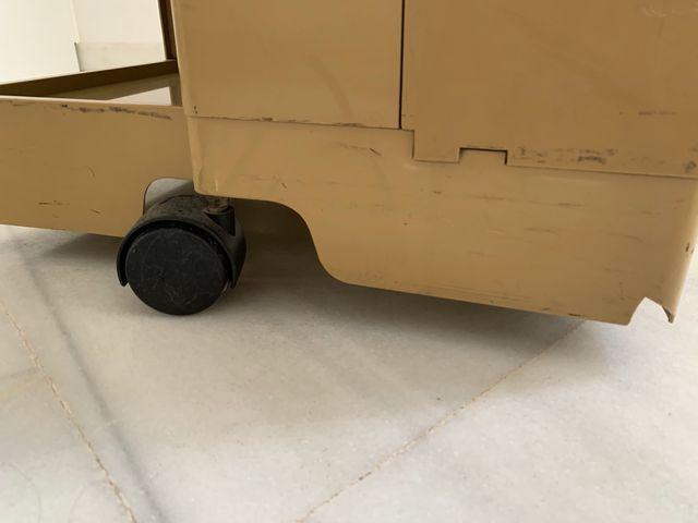 Mueble auxiliar carrito Boby años 70