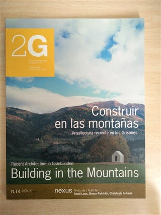 Revista 2G, N14, Construir en las montañas
