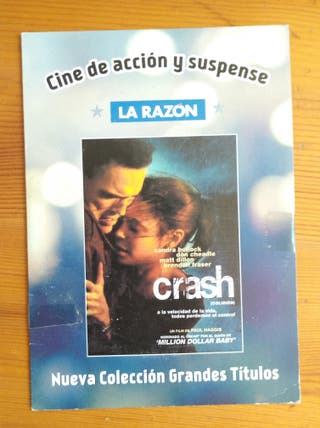 DVD Película CRASH