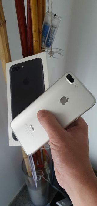 Iphone 7 plus 128gb plata