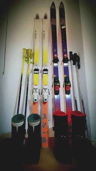 Equipo completo de esqui talla 39-40 y talla 45